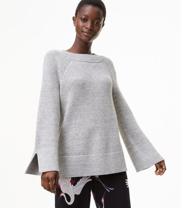 Spacedye Textured Sweater